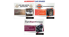 Preview of aldershotcarspares.co.uk